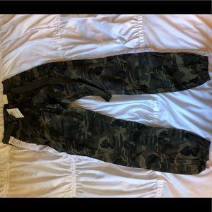 High Rise Fashion Nova Camo Pants size medium